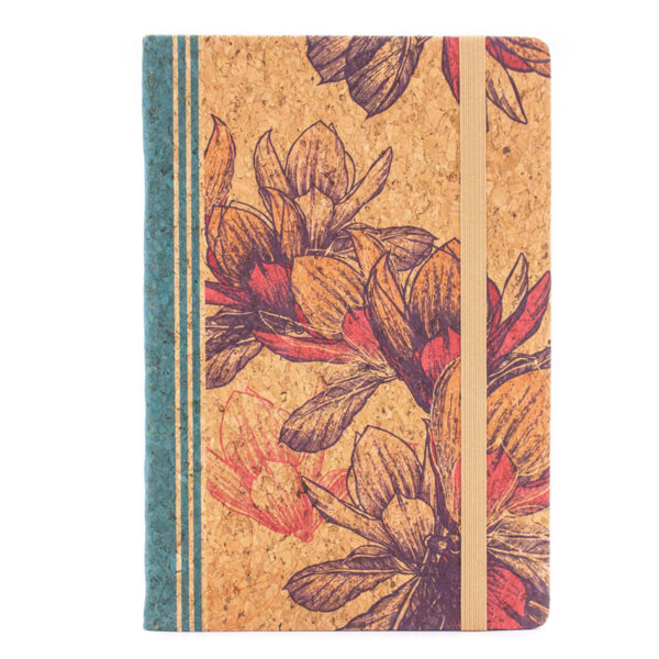 Ökologisches Notizbuch «Summer» A5 aus Kork