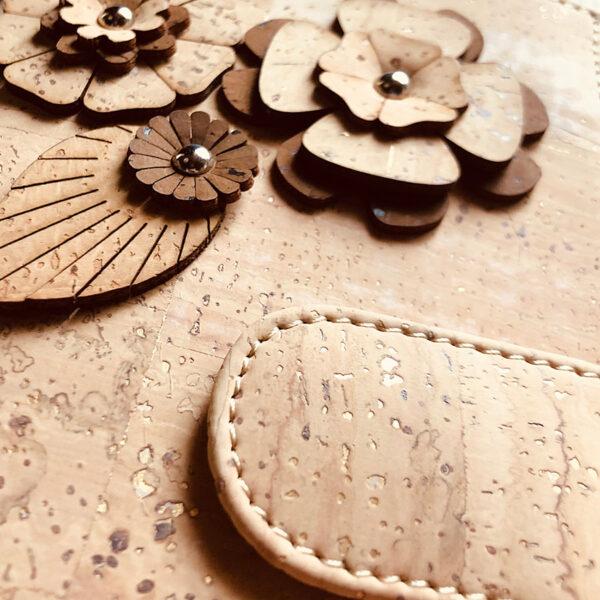 Portemonnaie «Cork Flowers» aus Kork