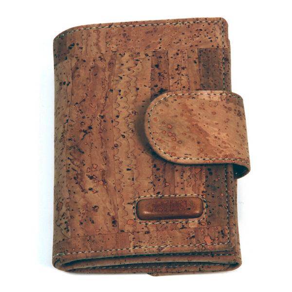 Portemonnaie «Portrait» braun aus Kork
