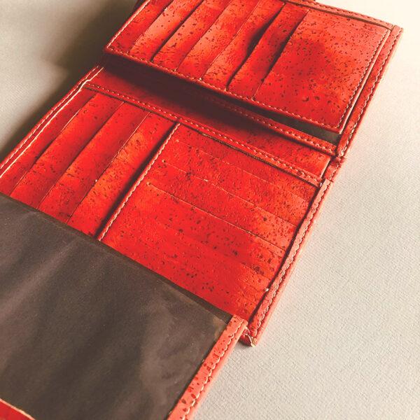 Portemonnaie aus Kork «Grapefruit»