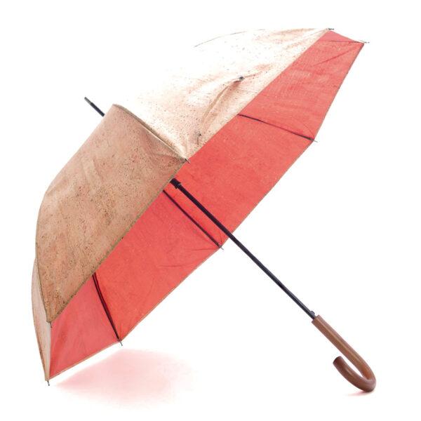 Regenschirm «Orange» mit Korkbeschichtung