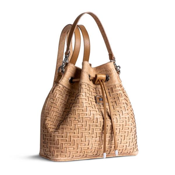 Handtasche/Rucksack «Fifty Six» aus Kork