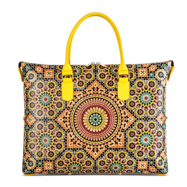Kork Tasche «Mandala» von Artipel