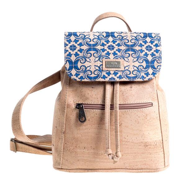 Rucksack «Azulejos» aus Kork von Montado