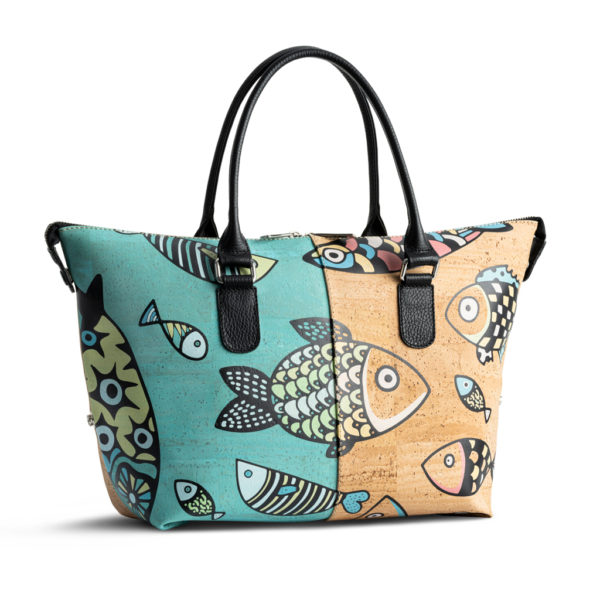 Kork Handtasche «Peixe» von Artipel