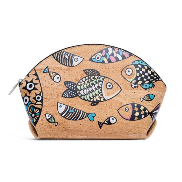 Kork Handtasche «Peixe» natur von Artipel