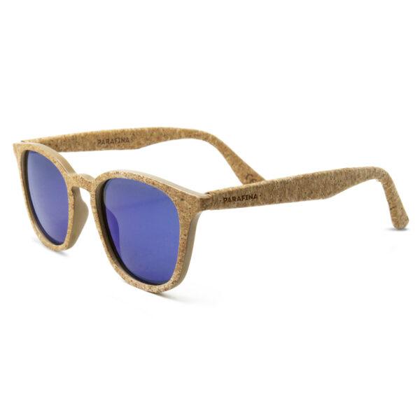 Kork Sonnenbrille Niebla Dark von Parafina