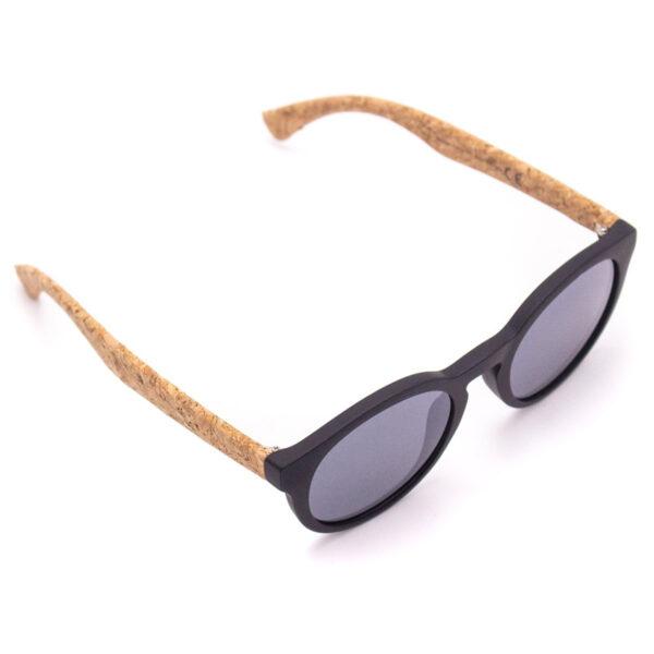 Sonnenbrille round mit Kork