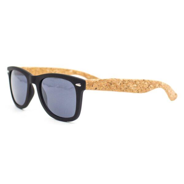 Sonnenbrille Kork und Korketui