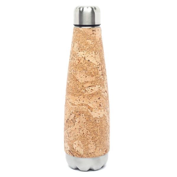 Trinkflasche «Smooth» mit Korkbeschichtung