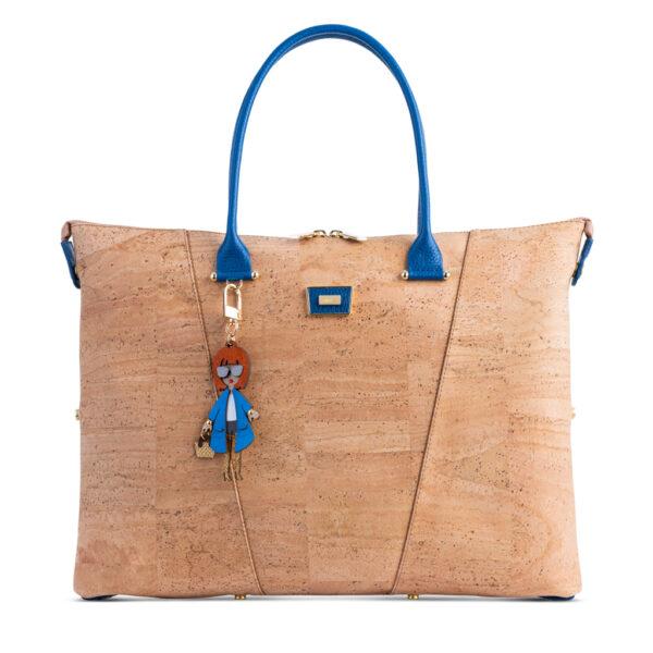 Kork Handtasche «Azulão» von Artipel