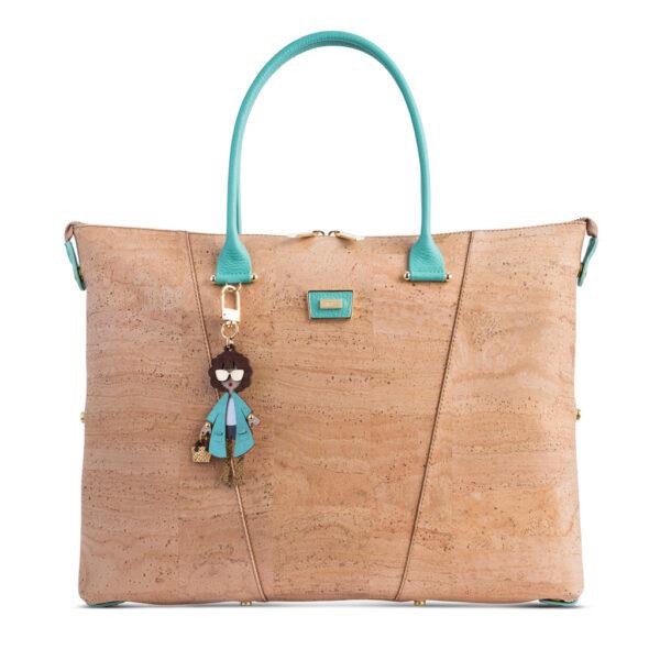 Kork Handtasche «Menta» von Artipel