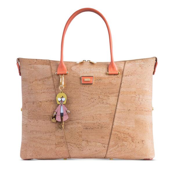Kork Handtasche «Pêssego» von Artipel
