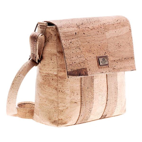 Vegane Crossbody-Tasche aus Kork