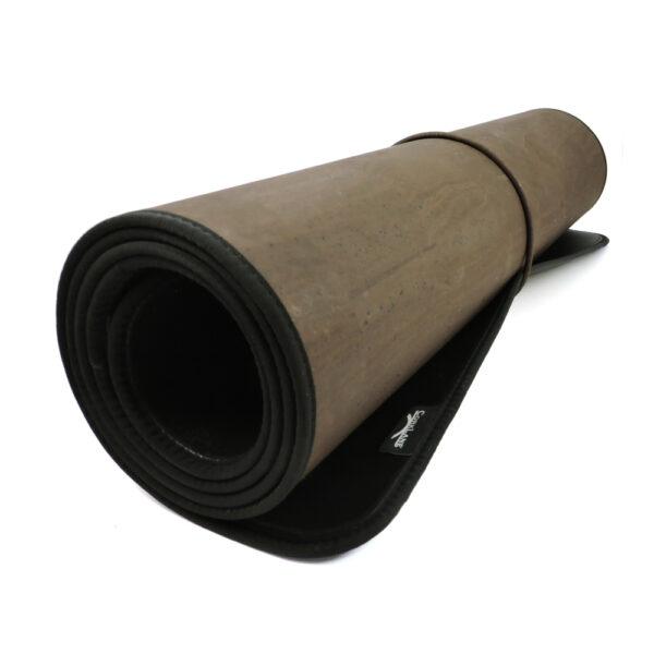 Yoga Matte braun aus Kork